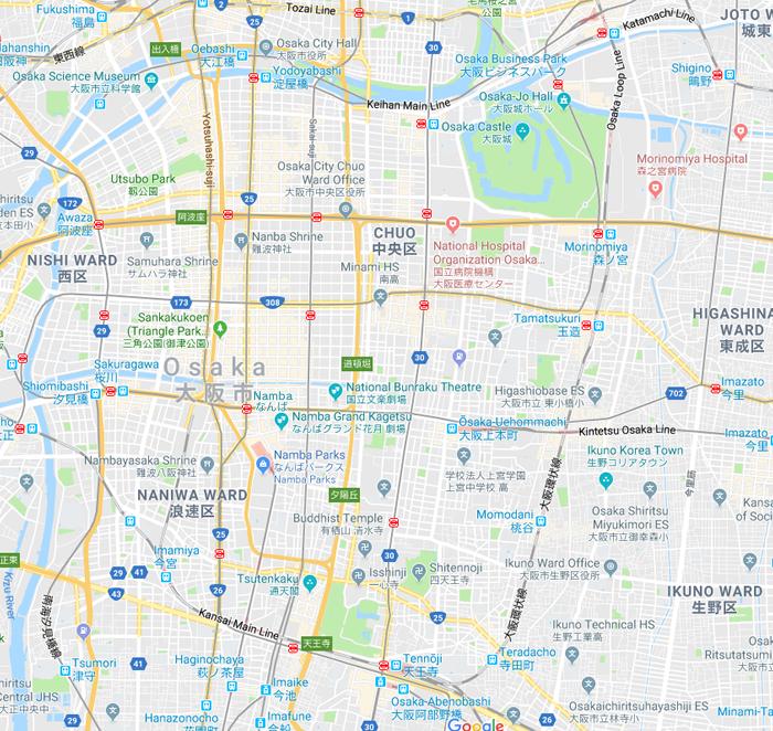 ManHunt LOCATION MAP